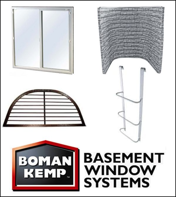 Boman Kemp Window Well System