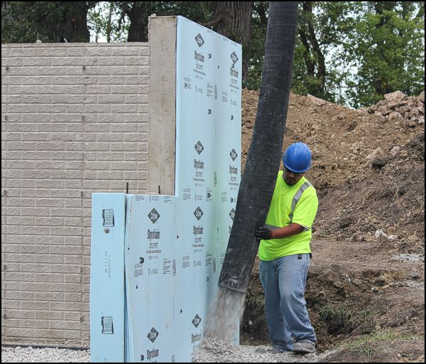 Foundation Wall Insulation