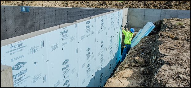 Insulating Foundation Walls