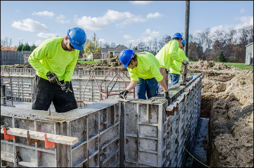 Building Poured Walls